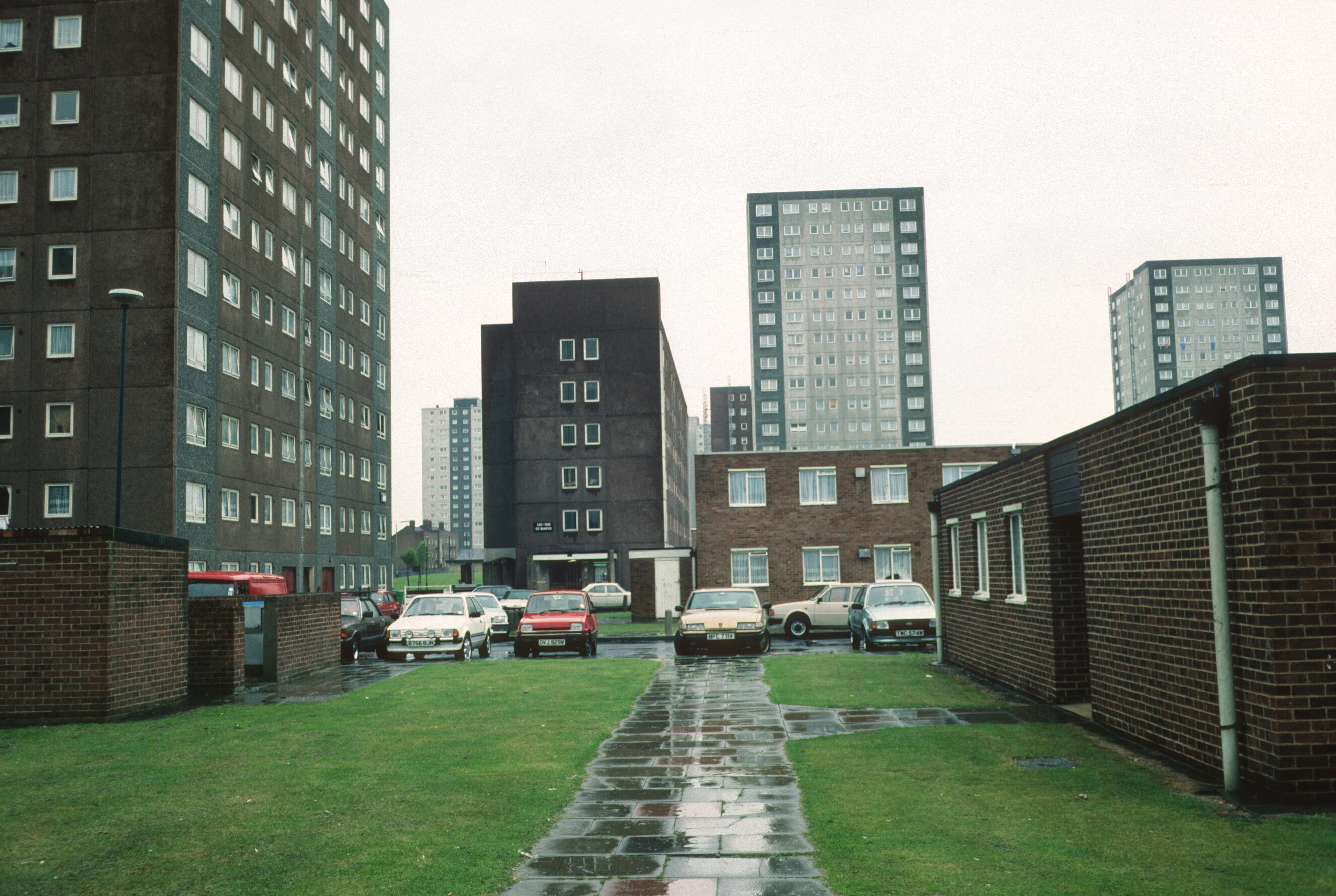 Gascoigne Redevelopment Area Stage V Tower Block