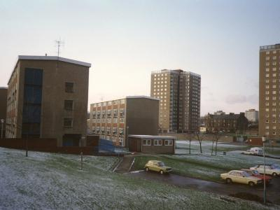View of Hamilton Court and Union Court from Alice Street