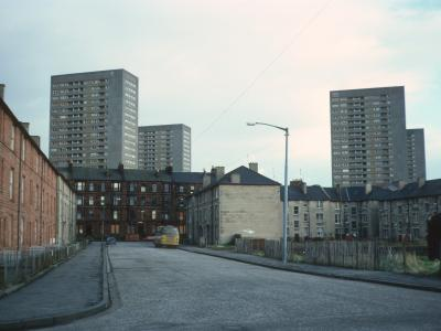 View of four 23-storey blocks on Summerfield Street