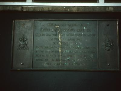 Plaque on 15-storey block