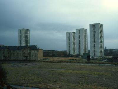 View of 26-storey blocks on Wyndford Road