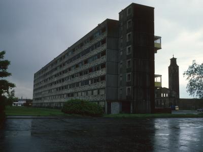 View of 7-storey block