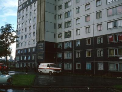 View of 24-storey block