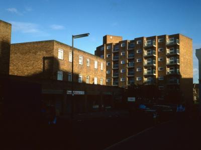 8-storey block viewed from Herbert Road