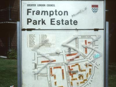 Map of Frampton Park Estate