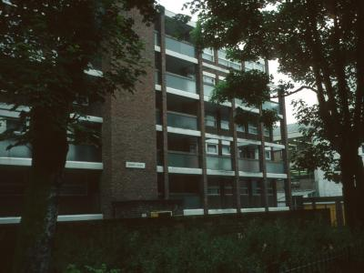 View of Cedar Court from Essex Road