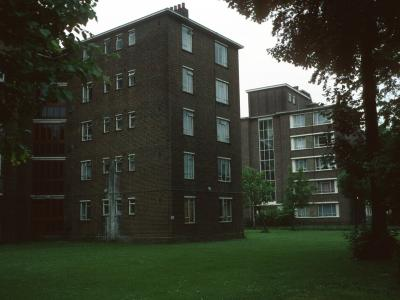 View of Eric Fletcher Court and Ashby House