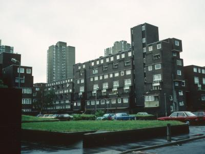 View of Ethelred Street Site