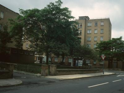 View of Beatrice House from Hayter Road