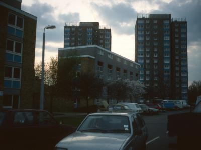 View of Slade House and Jamieson House