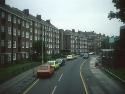 View of Paxton Court from Armfield Crescent