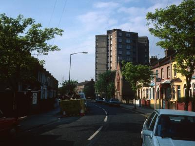 View of Castle Point from Boundary Road