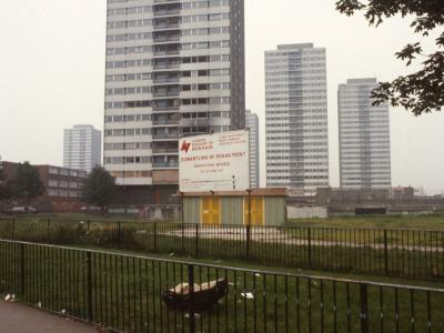 View of 23-storey blocks