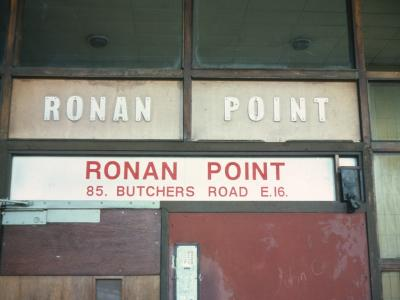 Entrance to Ronan Point