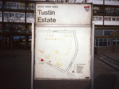 Map of Tustin Estate