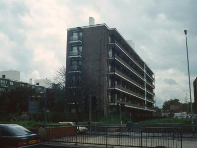 View of Purdon House from Peckham High Street