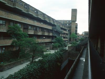 View of Camden redevelopment