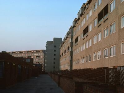 View of 7-storey blocks