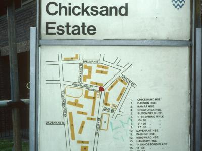 Map of Chicksand Estate