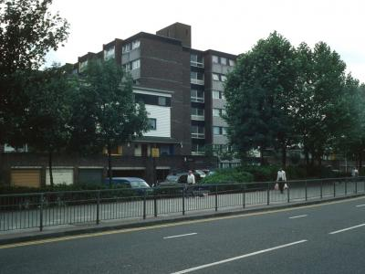 Bentworth Court from Bethnal Green Road