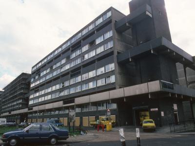 View of 10-storey blocks