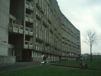 View of 10-storey block