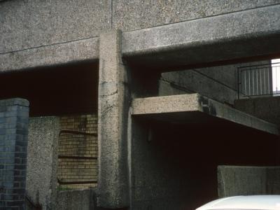 Lower ground of Balfron Tower