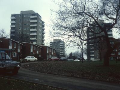 View of 11-storey blocks on Alton Estate (East)