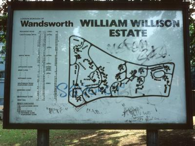 Map of William Willison Estate