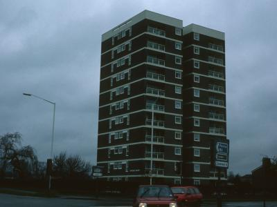View of Poplar House from London Road