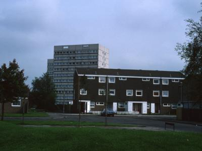 View of Downing House from Willow Way