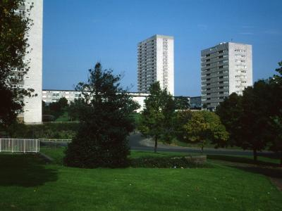 View from South of Packwood House with 20-storey blocks
