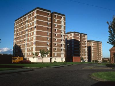 View of all three blocks in Parkview Road development