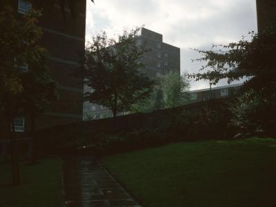 View of Manor Court and Wells Court