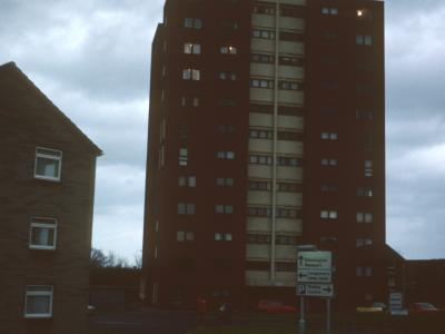 View of Manor Heights from Haybridge Road