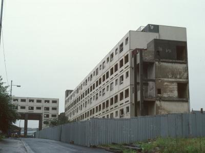 Turkey Lane development undergoing demolition