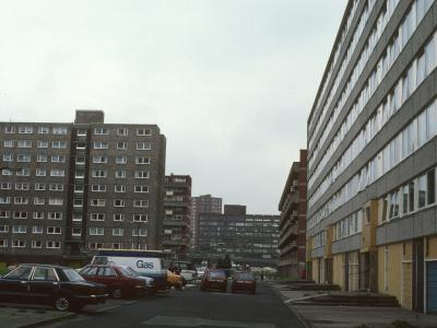 View of Northern section of Ellor Street Estate