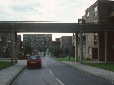 View of 6-storey blocks on Doncaster Road