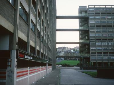 View of 13-storey blocks in Kelvin