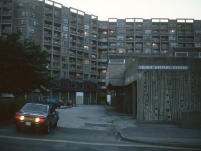 View of 13-storey block in Kelvin