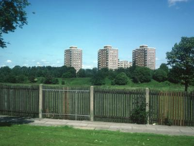 View of Childwall Heights blocks