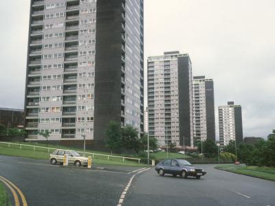 View of 21-storey and 17-storey blocks on College Bank Road