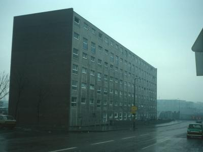 View of 7-storey block on Townsend Street