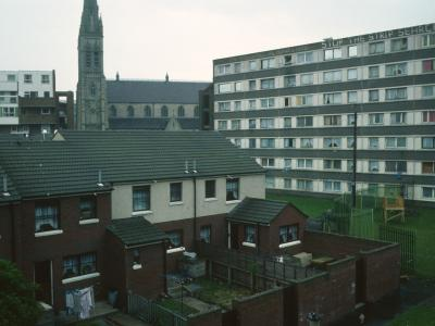 View of 7-storey block in Cullingtree
