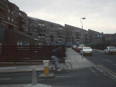 View of 6-storey blocks on Grafton Street