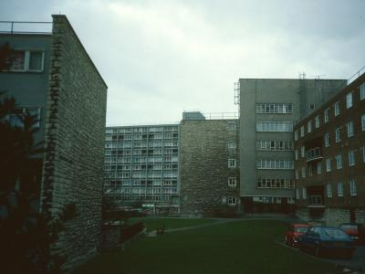 View of Canynge House and attached 5-storey blocks