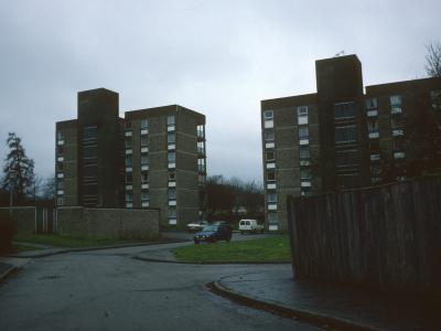 View of Eastwick Row blocks