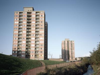 View of Comiston development