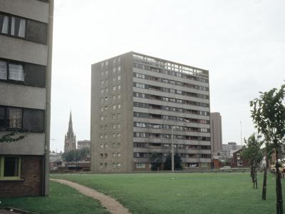 View of Richmond House, with Lincoln House in foreground