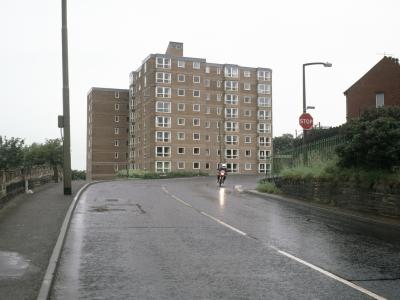 View of Towngate House from the west